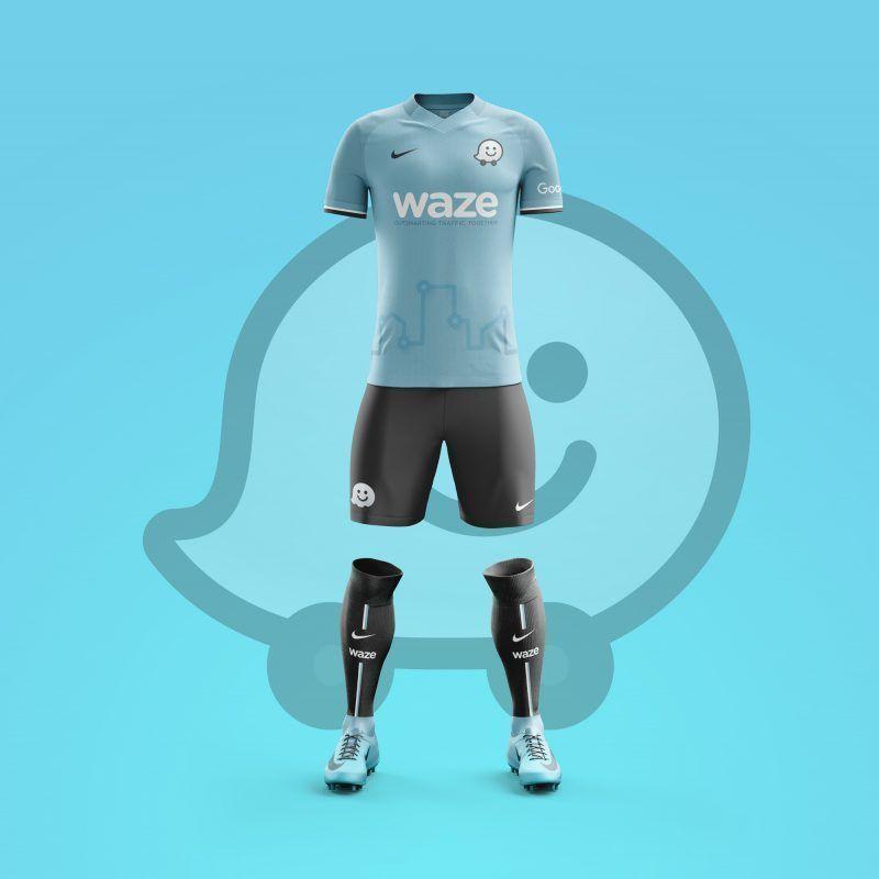 Equipaciones de la Redes Sociales | Waze