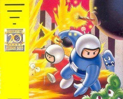 Bomberman ArtCover Greg Martin