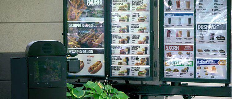 Campaña de Burger King contra analfabetismo