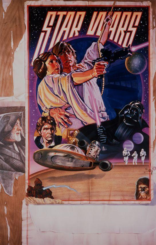 Drew Struzan Cartel Star Wars