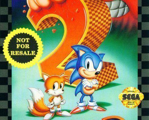 Sonic 2 ArtCover Greg Martin