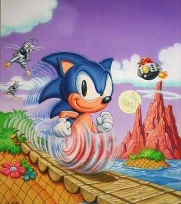Sonic ArtCover Greg Martin