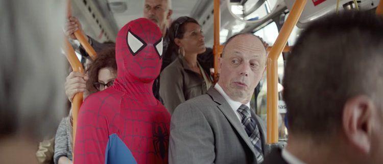 Spot de Philips con Spiderman