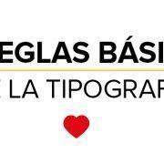 10 reglas básicas de la tipografía