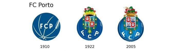 Evolución escudo Oporto