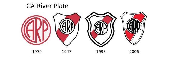 Evolución escudo River Plate