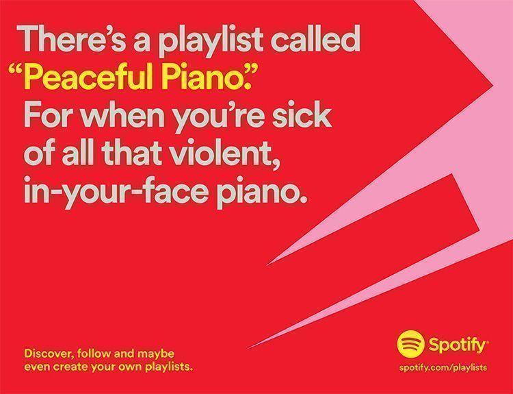 Campaña de Publicidad de Spotify