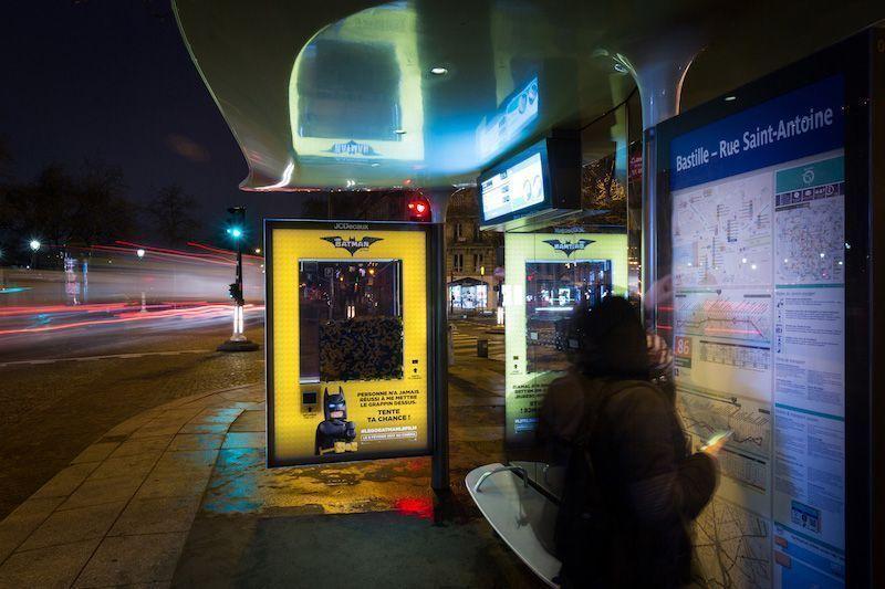 Paradas de autobús de Lego Batman
