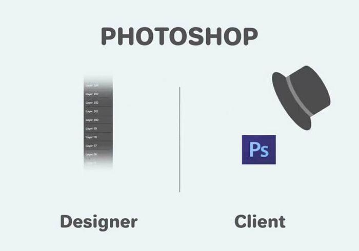 Diseñador Gráfico vs Cliente