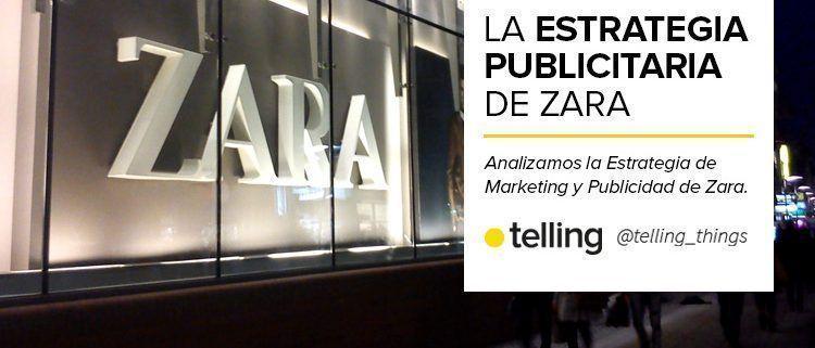 Estrategia de Publicidad de Zara
