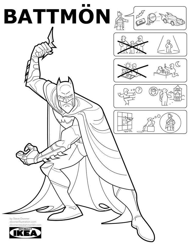 Ikea SuperHeroes