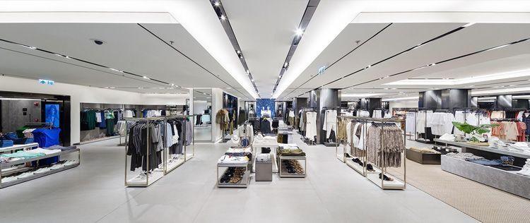 Interior de Tienda Zara