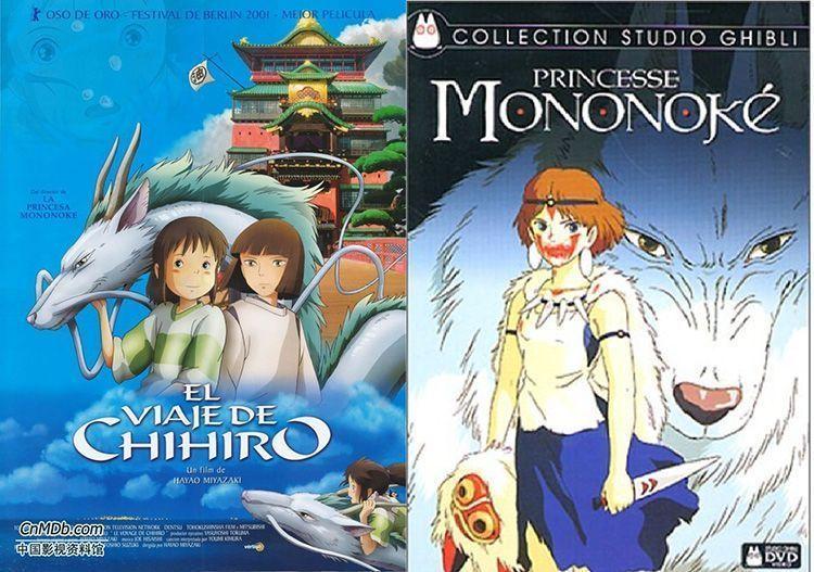 Princesa Mononoke y el Viaje de Chihiro