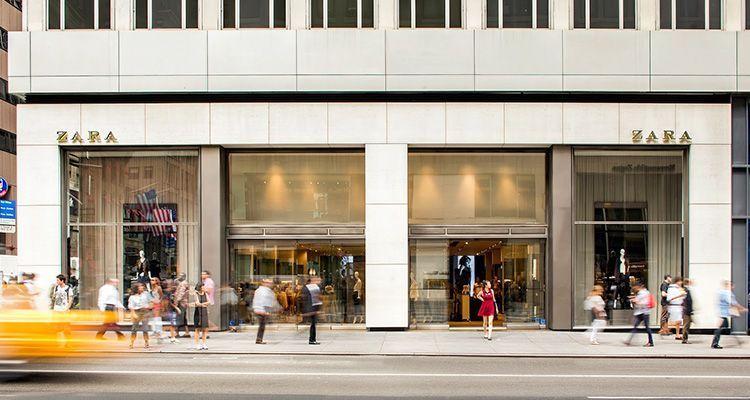 Tienda Zara en la Quinta Avenida