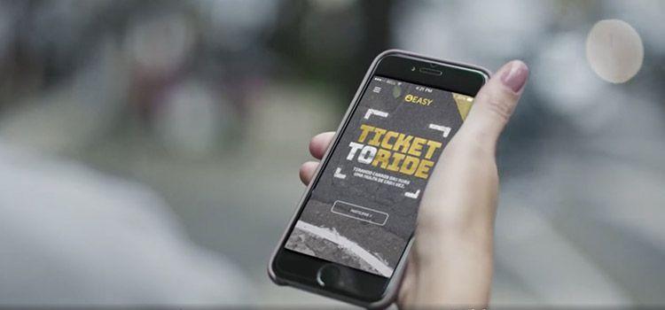 Ticket to Ride de Easy Taxi