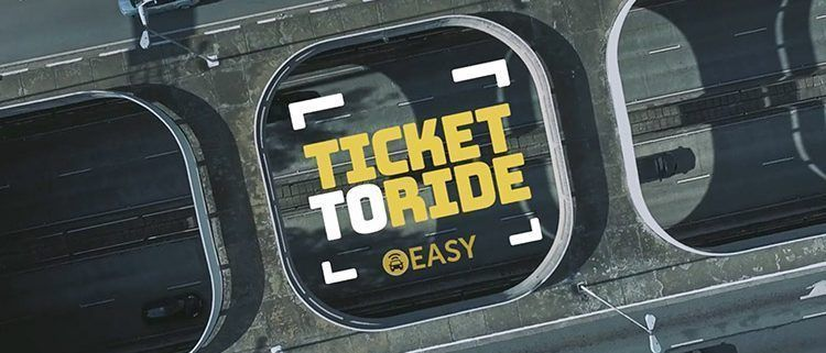 Ticket to Ride from Easy Taxi