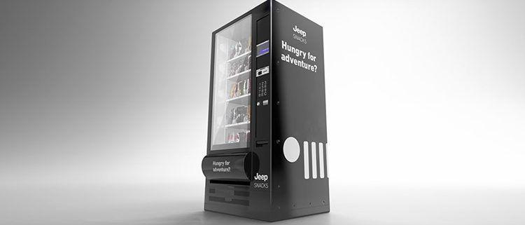 Jeep Snacks Vending Machine