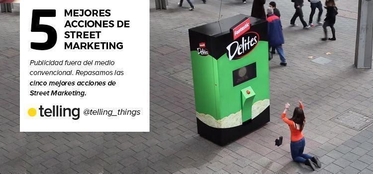 5 mejores acciones de Street Marketing