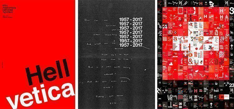 60 aniversario Tipografía Helvetica