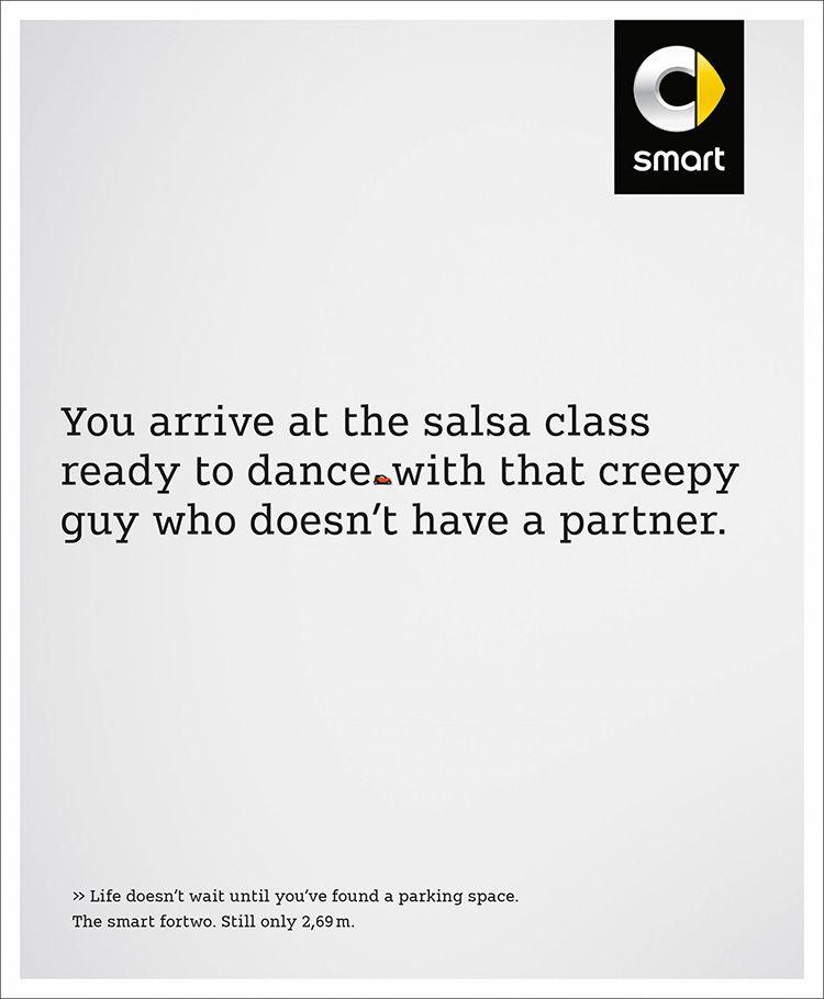 Campaña de Publicidad de Smart: Salsa Class