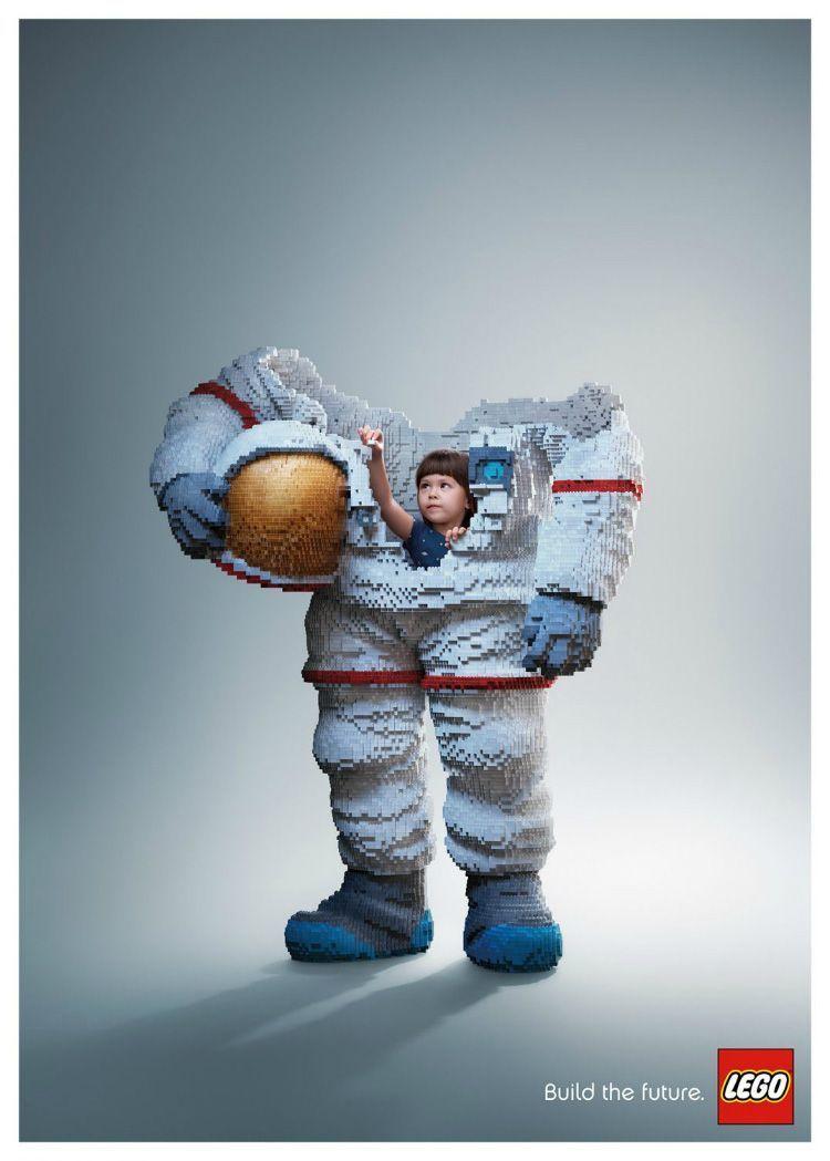Campaña Gráfica de Lego: Build the future
