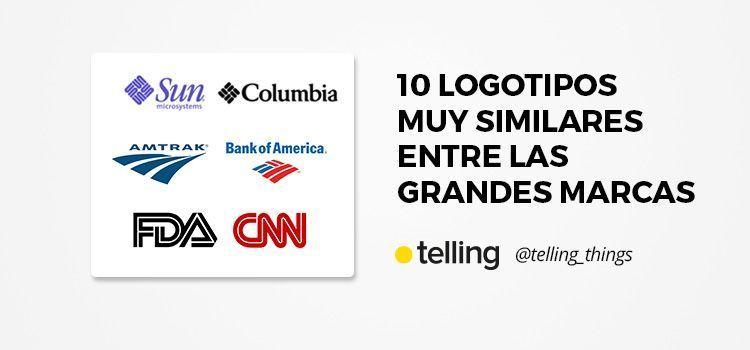 10 Logotipos similares entre las grandes marcas