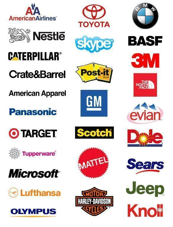 Logotipos Tipografía Helvetica