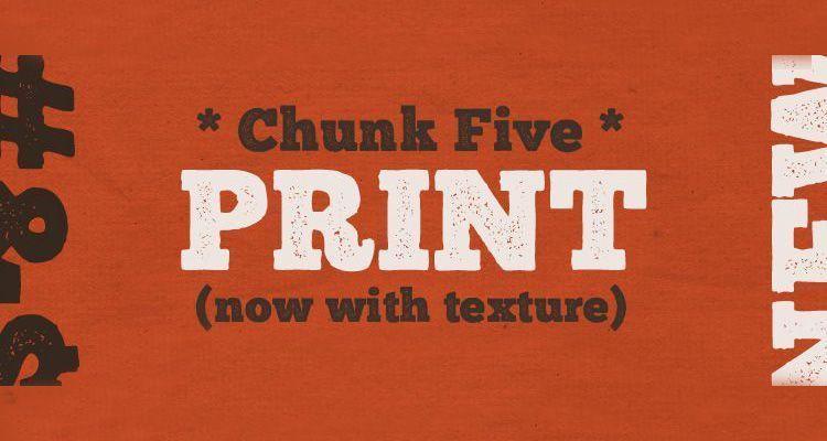 Tipografía Chunk Gratuita
