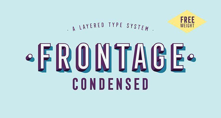 Tipografía Frontage Gratuita
