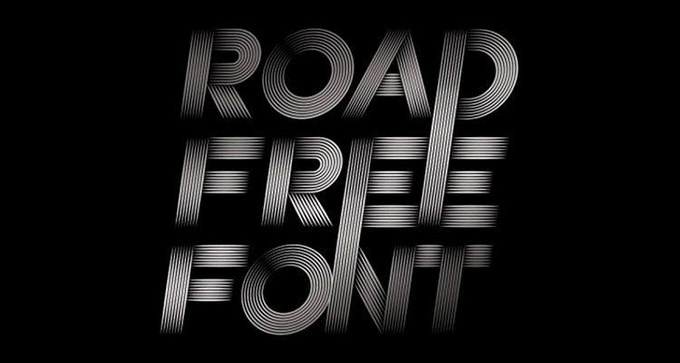 Tipografía Road Free Gratuita
