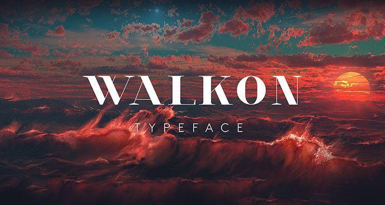 Tipografía Walkon Gratuita