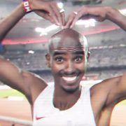 Homenaje de Nike a Mo Farah