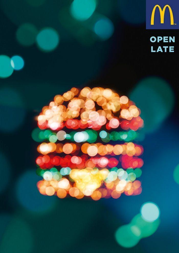 Fotografías nocturnas de McDonald's