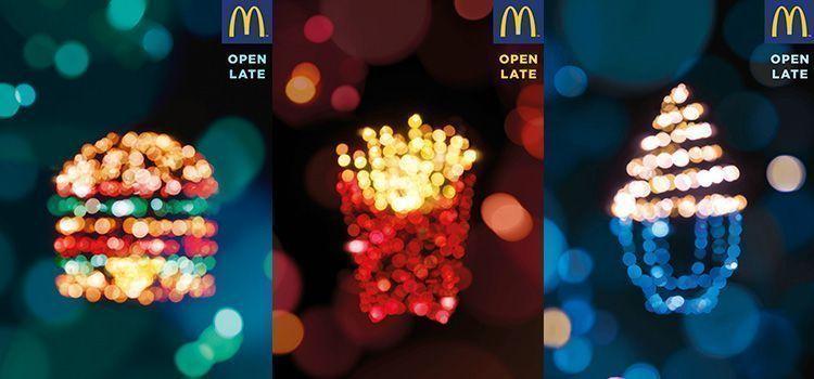 Fotografías nocturnas de McDonalds