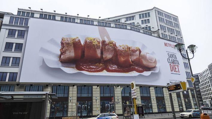 Santa Clara Diet Lona publicitaria