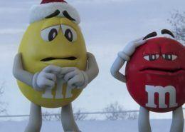 Anuncio de Navidad de M&M's