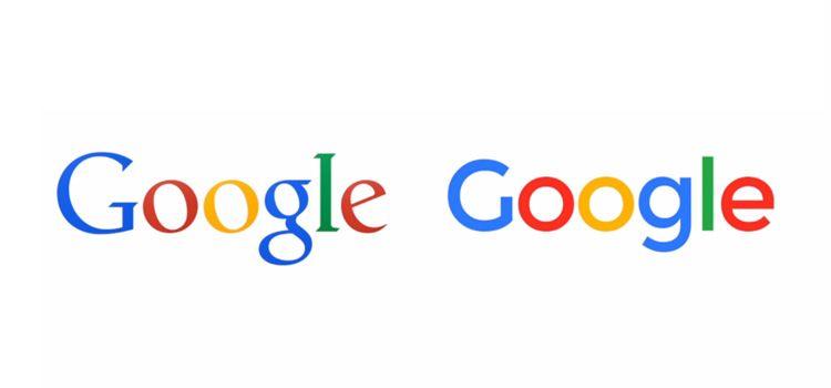 Cambio de logotipo Google