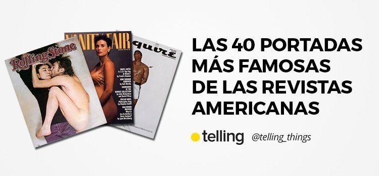 40 portadas más famosas de las revistas americanas