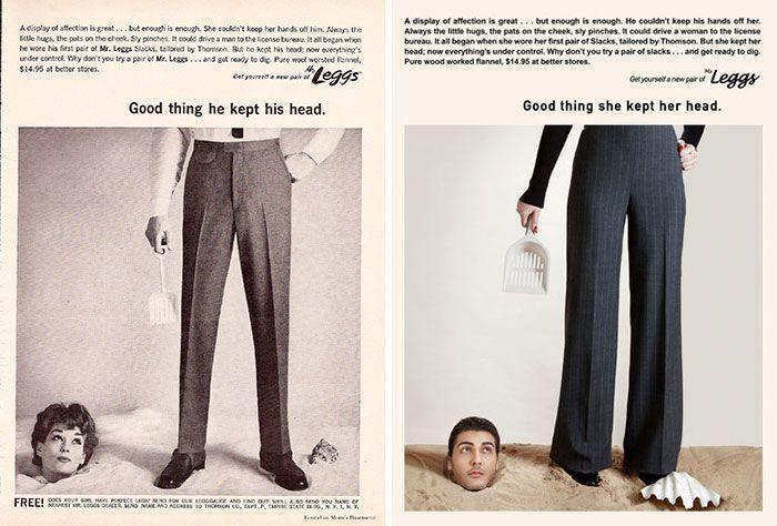 Publicidad Sexista de los años 50