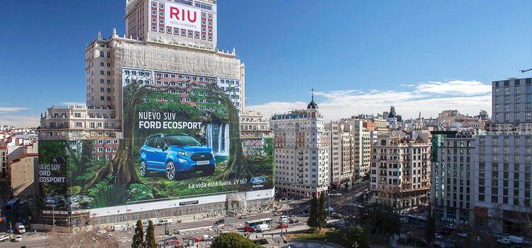 La valla de publicidad más grande del mundo