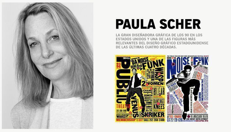 Grandes Diseñadoras Gráficas: Paula Scher