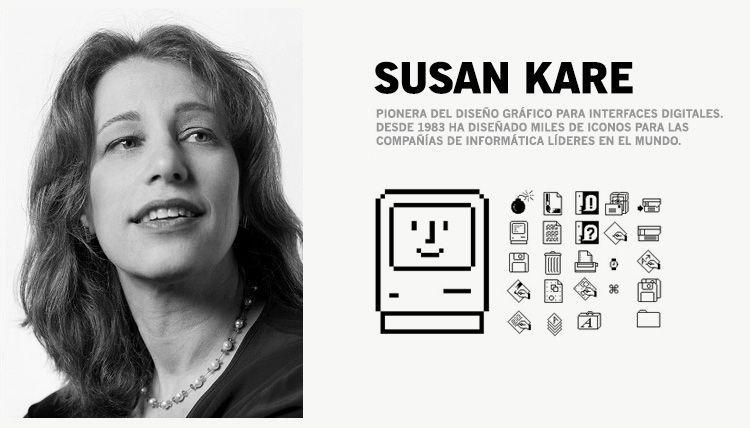 Grandes Diseñadoras Gráficas - Susan Kare