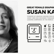 Great Female Graphic Designers: Susan Kare