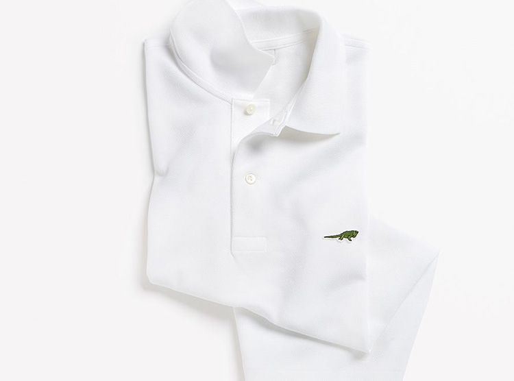 Lacoste cambia el logotipo del cocodrilo