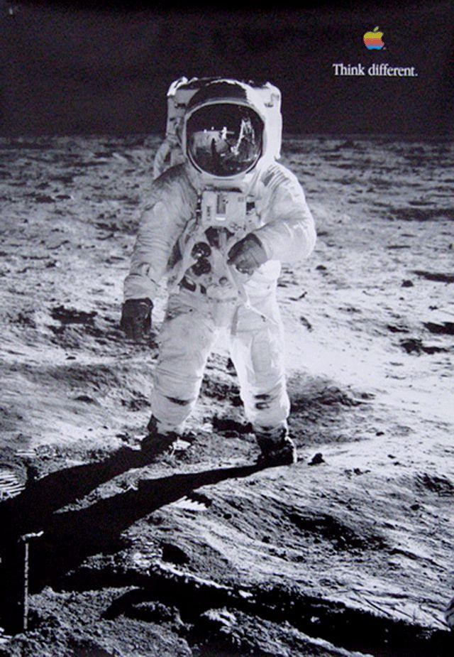 Think Different - Buzz Aldrin