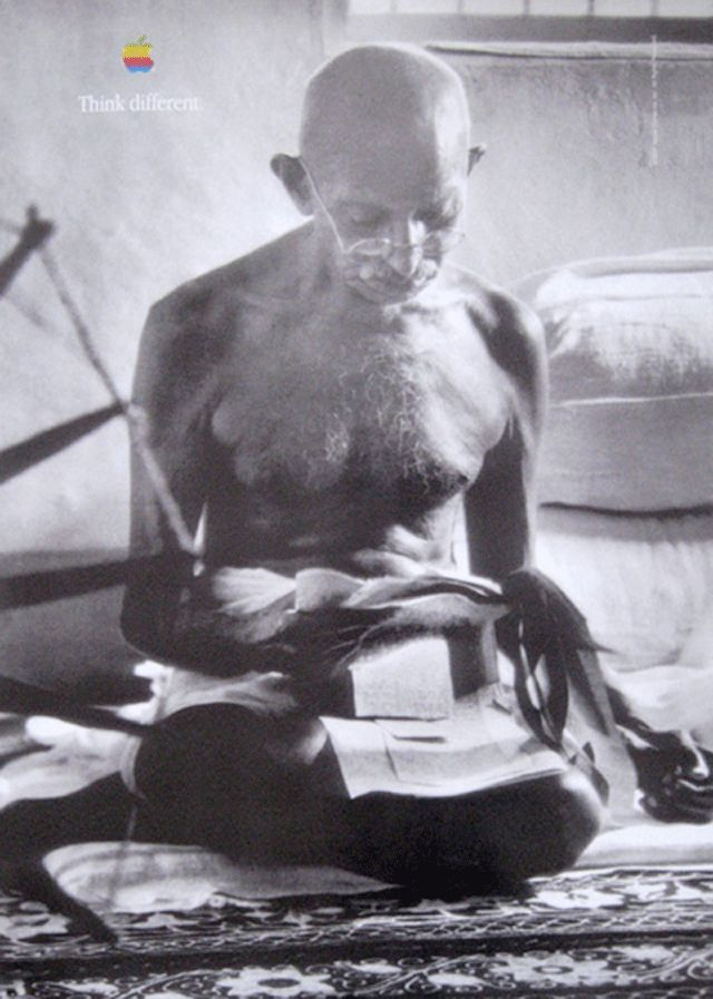 Think Different - Ghandi