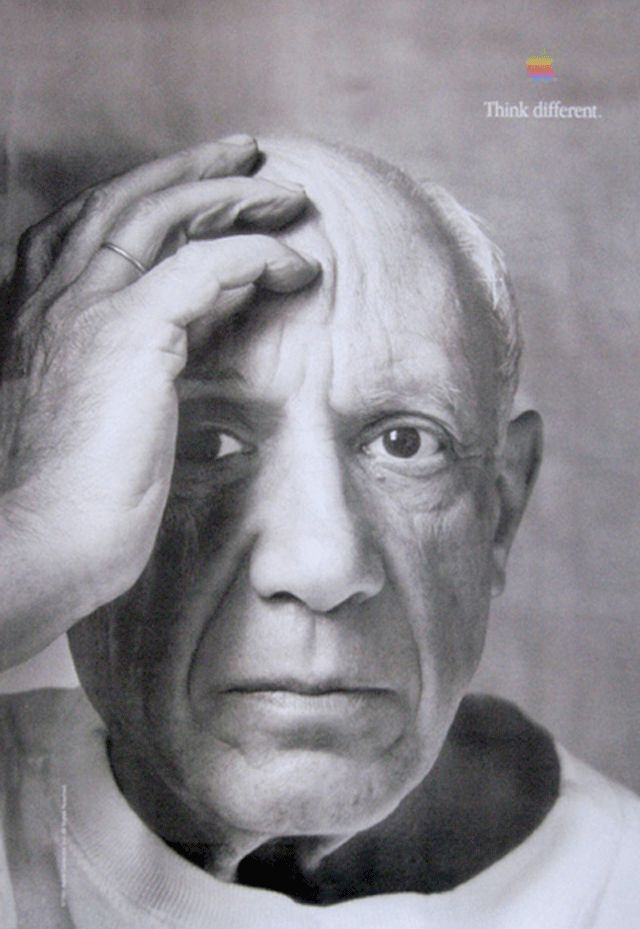 Think Different - Pablo Picasso