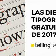 Tipografías Gratuitas de 2017