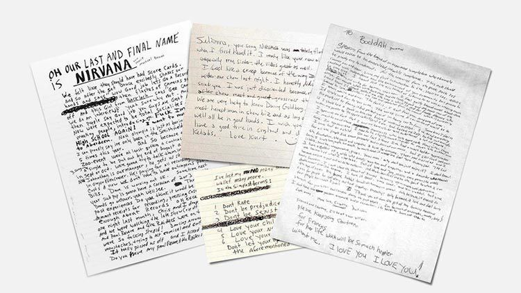 Songwriters Fonts |Kurt Cobain