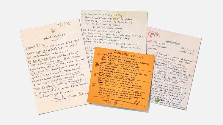 Songwriters Fonts |John Lennon